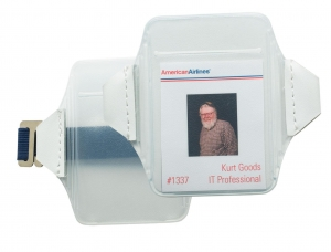 China ID Card Holders Vertical Arm ID Holder on sale