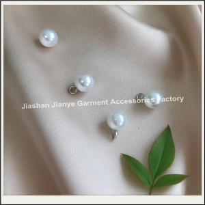 China Plastic pearl decoration for garment on sale