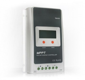 China Common Positive Grounding MPPT Solar Charge Controller with LCD display 10/20/30/40 A on sale