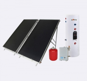 China Split flat plate solar water heater system on sale