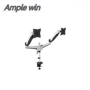 China Dual LCD Monitor Desk Mount Stand Fits Two Screens on sale
