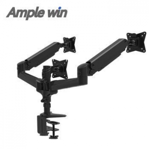 China Angle-free Tilt Monitor Desk Mount Triple Screen Mount Arm on sale