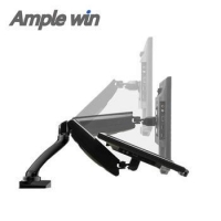 """10""""-27"""" Swivel tilting articulating Arm Customized Colors lcd monitor arm"""