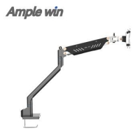 China Desk Standing LCD Monitor Bracket with Swing Arm on sale