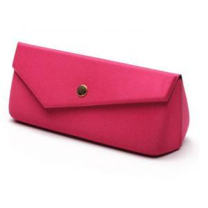 China personalized fashion hard eva zipper fabric eyeglass case with folding on sale