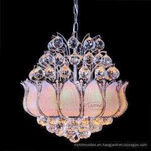 China Hot Sale Luxury Hotel Foyer Gold Crystal Small Chandelier on sale