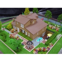 China Modern large building model design,architectural rendering model on sale
