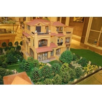China Architectural villa house scale model with lifter, 3d maquette architectural on sale
