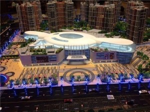 China Architectural house models,miniature model for factory building on sale