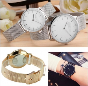 China steel band watch on sale