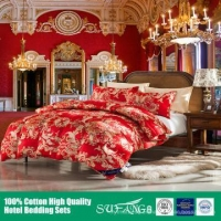 China Luxury Hotel Bedding Set CR001 on sale