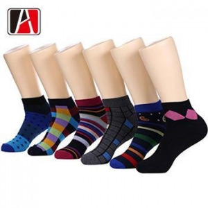 China Design Men Cheap Woman Color Polyester Nylon Teen Boy Ankle Sublimation Sock on sale