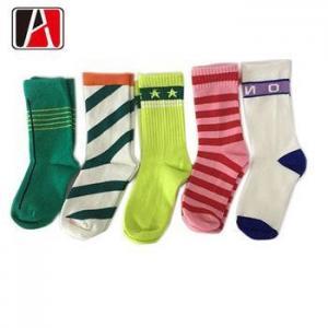 China Pretty Kid Cotton Cute Custom Pattern Novelty Sock on sale