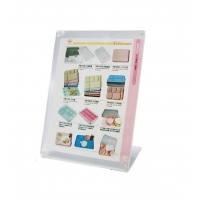 China Menu Holders A4 Angled Ad-Print Holder YM-0722 on sale
