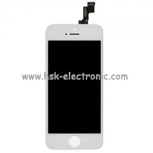 China Spare parts for iphone iphone 5s lcd display-white on sale