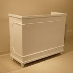 China H-702White Clothing Shop Checkout Counter on sale