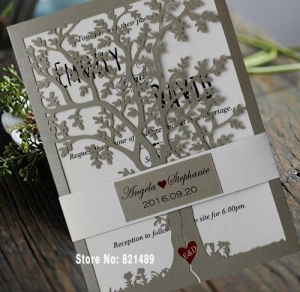 China Wedding Invitations Item Code: Ibuy32622031836 on sale