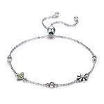 China S925 sterling silver bracelet female personality diamond bracelet jewelry on sale