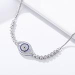 China Guardian Eye sterling silver bracelet on sale
