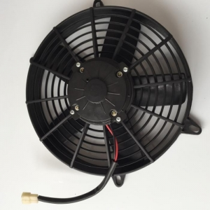 China Condenser Fan Assembly Suit Spal 24V New 5 Blades For Yutong Bus LNF2202S on sale