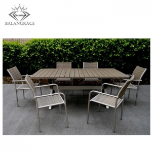 China polywood furniture BGPF4016-recycled plastic patio furniture on sale