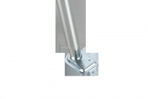 China Telescopic hanger tube galvanized round head on sale