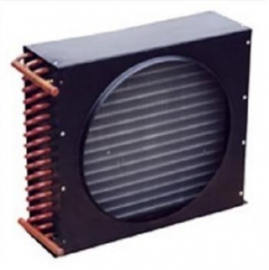 China Insulated copper tube Air-Cooled Condenser (copper condenser) on sale