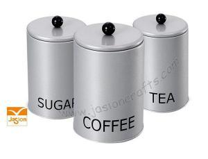 China Tea/coffee/sugar canister on sale
