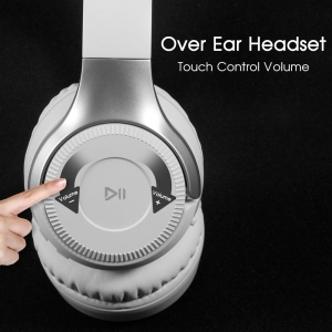 China B26 3D Stereo Wireless Bluetooth 4.2 Earphone Over Ear Headphone Touch Panel With Microphone on sale