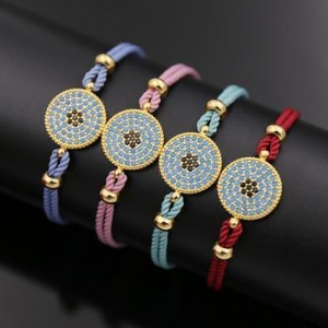China fashion jewelry shop popular silver rose gold infinity unique stretch female ladies charm bracelets on sale