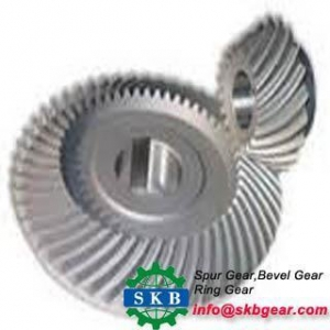 China spiral bevel gear for car behind bridge gearbox gear on sale