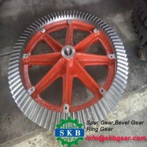 China Car spare parts NPR spiral bevel gear on sale