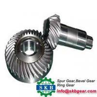 China High quality OEM Tiller Medium speed Spiral bevel gear on sale