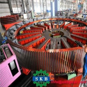 China Custom Large Internal Ring Gear Large Ring Gear for Machine on sale