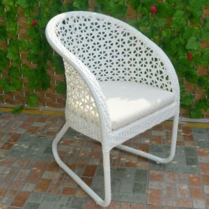 China Outdoor Dining Wicker Garden Chairs on sale