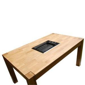 China Hot Pot Table Korean BBQ Grill Table on sale