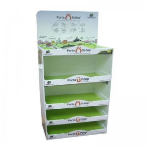 China Corrugated Pop POS Display Stand Soap Cardboard Display Stand on sale