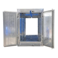China Tunnel Powder Curing Oven Furnace with Overhead Conveyor on sale