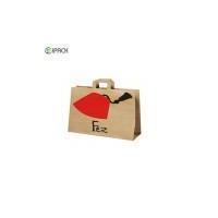 China Hot Selling Kraft Paper Restaurant Food Packaging Bags on sale