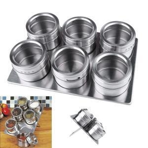 China Stainless Steel Spice Canisters Cans on sale