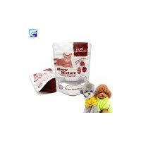 Custom ziplock heat seal plastic cat food bag