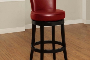China 6 minutes ago Boston 26''h Wood And Bonded Leather Swivel Counter Stool on sale