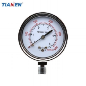 China Button Type Capsule Pressure Gauge on sale