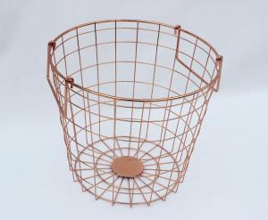 China Storages DW10072--Hamper Basket-coppering on sale