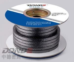 China No burning loss Flexibility Graphite Packing on sale