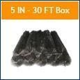 China LeafBlox Gutter Guards LeafBlox 30 Linear Ft Box on sale