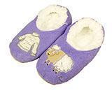 China Women's Purple Sheep Sweater Slippers on sale