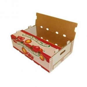 China Fruit & Vegetable Packaging Fresh apple fruit cardboard fruit Banana packaging Grape carton box on sale