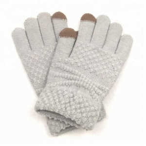China Knitting Winter Gloves Fashion Touch Screen Gloves on sale