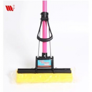 China Best buy WJ0818 iron stick roller Squeezing easy clean Sponge Mop for home on sale